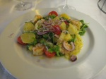 Catalana Salad with Shrimp