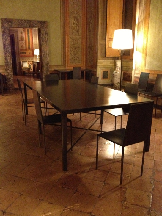 Conference Room Palazzo Farnese.
