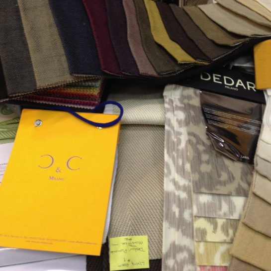 Fabric for sofas and chairs.