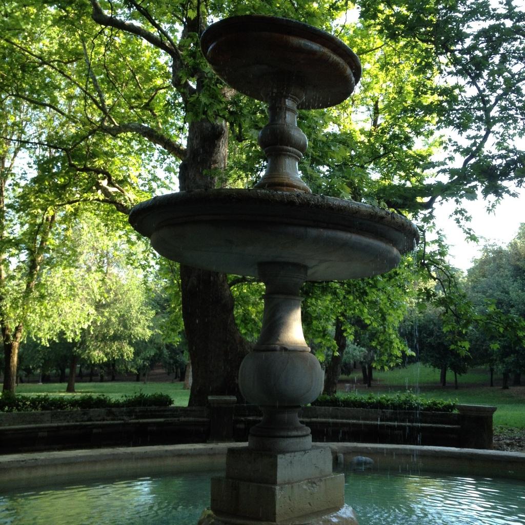 Fountain, Villa Borghese Park