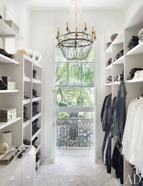 Closet designed by Lee Ledbetter
