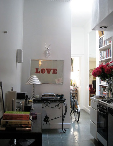 Rita Konig's Hallway Kitchen