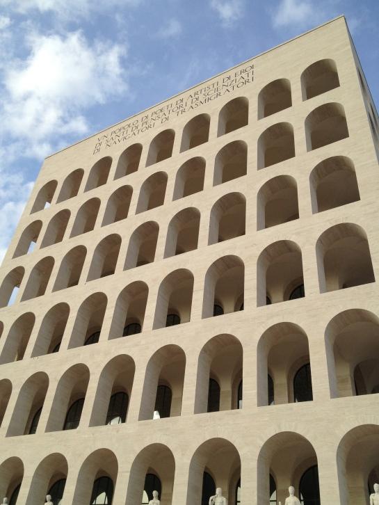 """Palazzo della Civiltà di Lavoro - aka """"The Square Colosseum""""."""