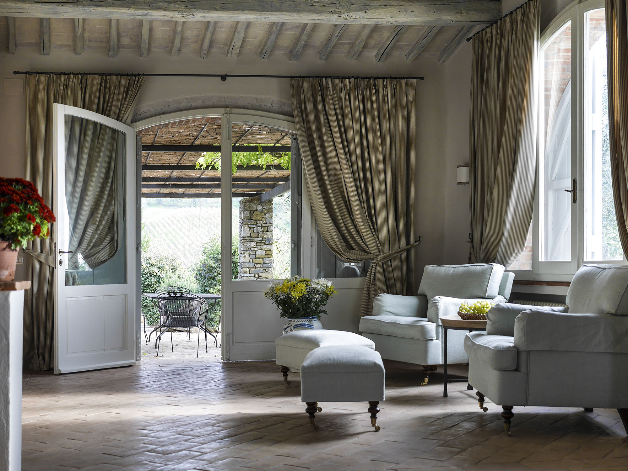 Gaiole in chianti tuscany italy arlene gibbs d cor for Flamant interieur