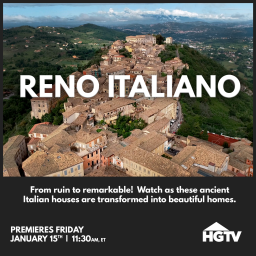 Introducing RENO ITALIANO, our HGTV pilot!